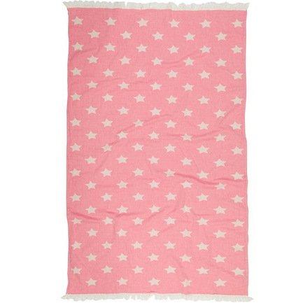 Полотенце пляжное Star Pestemal, 90х160 см, розовое