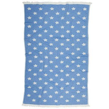 Полотенце пляжное Star Pestemal, 90х160 см, синее