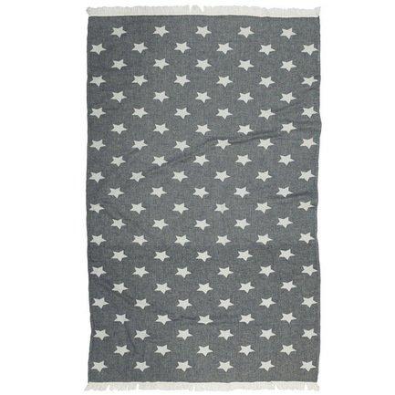 Полотенце пляжное Star Pestemal, 90х160 см, черное