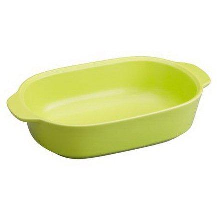 Corningware Форма для запекания прямоугольная (1.4 л), зеленая, 27х17 см 1114113 Corningware emile henry квадратная форма для запекания 2 05 л 28x23 см крем