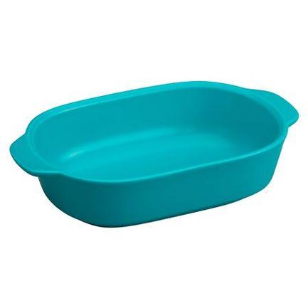 Corningware Форма для запекания прямоугольная (1.4 л), синяя, 27х17 см 1114416 Corningware форма для запекания marinex прямоугольная m162214 1