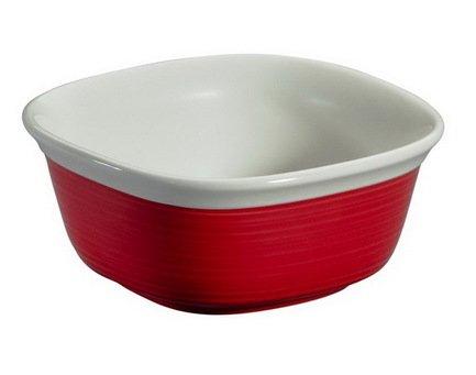 Corningware Форма для запекания квадратная (0.6 л), красная, 14.7х14.7 см 1093932 Corningware квадратная форма для запекания emile henry квадратная форма для запекания