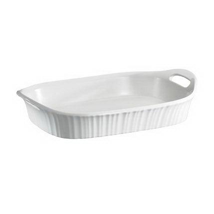 Corningware Форма для запекания прямоугольная (2.8 л), 34х25 см 1105936 Corningware emile henry квадратная форма для запекания 2 05 л 28x23 см крем
