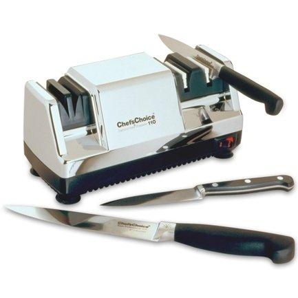 Chefs Choice Точилка для ножей электрическая CC110HR, хром http