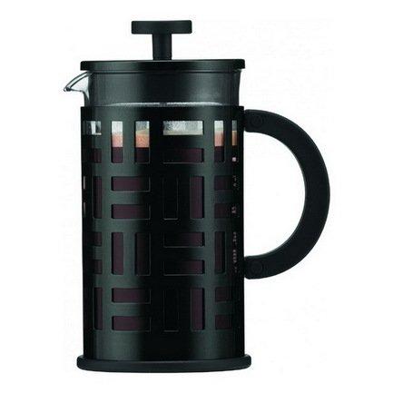Bodum Кофейник с прессом Eileen (1 л), черный 11195-01 Bodum ями yami рука красные облака стеклянный кофейник кофе горшок 600cc ym5096