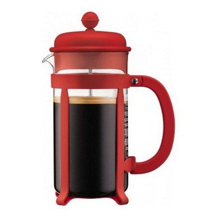 Bodum Кофейник с прессом Java (1 л), красный 1908-294 Bodum bodum кофейник с прессом columbia 1 л глянцевый