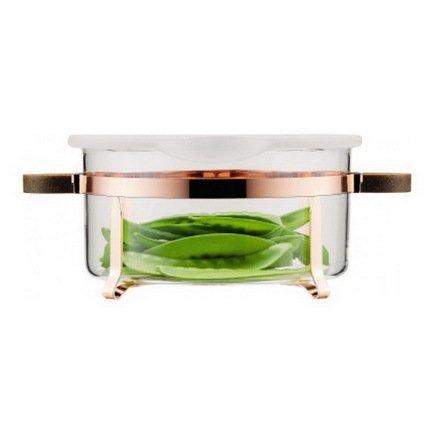 Bodum Емкость для хранения Chambord (2.5 л), с силиконовой крышкой, медь K4906-143