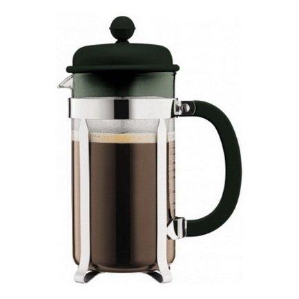 где купить Bodum Кофейник с прессом Caffettiera (1 л), темно-зеленый 1918-946B-Y17 Bodum по лучшей цене