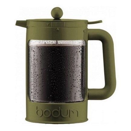 Bodum Кофейник для приготовления холодного кофе Ice Bean (1.5 л) бутылка 0 4 л asobu ice t 2 go фиолетовая it2go violet