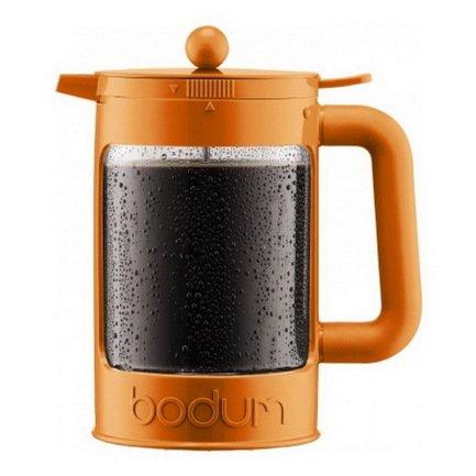 Bodum Кофейник для приготовления холодного кофе Ice Bean (1.5 л), оранжевый