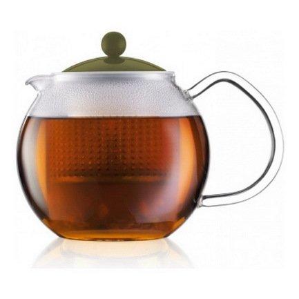 Bodum Чайник заварочный Assam (0.5 л), светло-зеленый 1823-947B-Y17 Bodum чайник заварочный с прессом 0 5 л bodum assam хром 1807 16