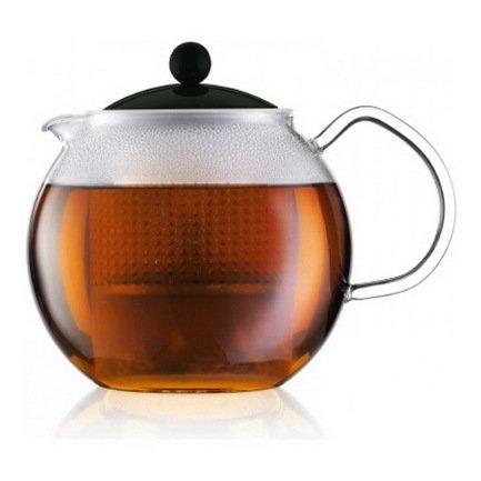 Bodum Чайник заварочный Assam (1 л), тёмно-зелёный 1830-946B-Y17 Bodum чайник заварочный bohmann 1 1 л 7350 20mrb