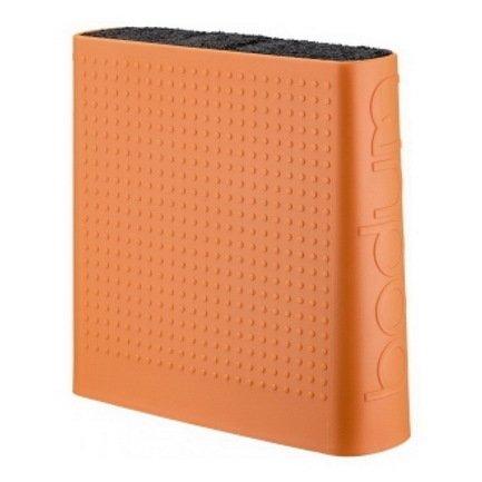 Bodum Подставка для ножей Bistro, оранжевая 11089-948-Y17 Bodum bodum подставка для ножей bistro цвета в ассортименте