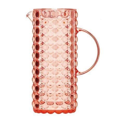 цены Guzzini Кувшин Tiffany (1.75 л), коралловый 22560023 Guzzini