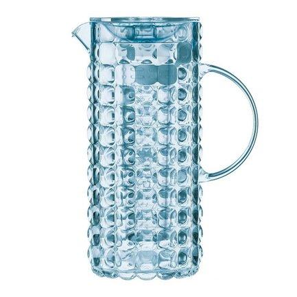 Guzzini Кувшин с колбой для льда Tiffany (1.75 л), голубой 22560181 Guzzini банка для кофе guzzini gocce 0 7 л прозрачный