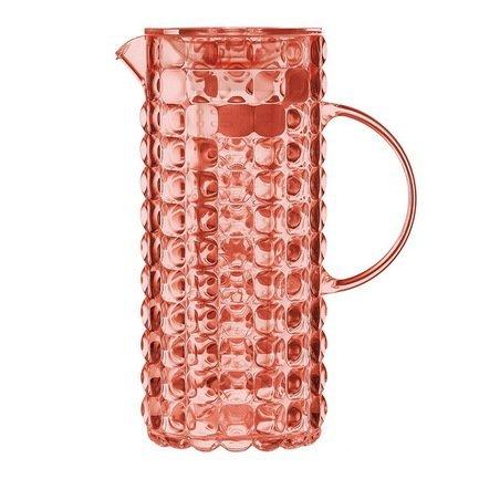 Guzzini Кувшин с колбой для льда Tiffany (1.75 л), коралловый 22560123 Guzzini банка для кофе guzzini gocce 0 7 л прозрачный