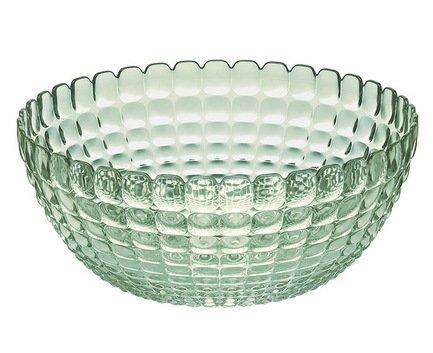 Guzzini Салатница Tiffany L (3 л), 25 см, зеленая 21382560 Guzzini салатница 26х26х14 3 см gipfel салатница 26х26х14 3 см