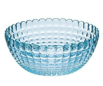Салатница Tiffany XL (5 л), 30 см, голубая 21383081 Guzzini