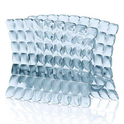 Guzzini Салфетница Tiffany, 15.2х7.6х11 см, голубая 19980081 Guzzini guzzini салфетница grace песочная