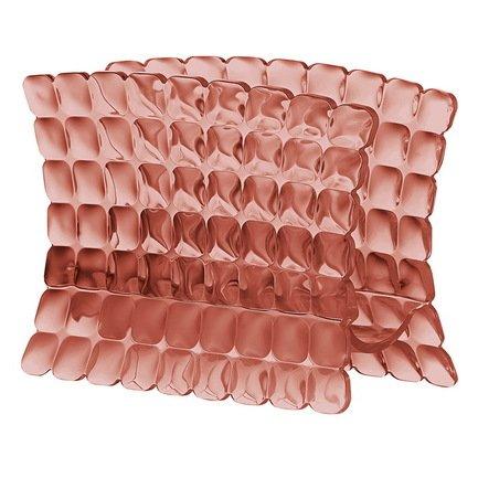 Guzzini Салфетница Tiffany, 15.2х7.6х11 см, коралловая 19980023 Guzzini guzzini салфетница tiffany 15 2х7 6х11 см серая