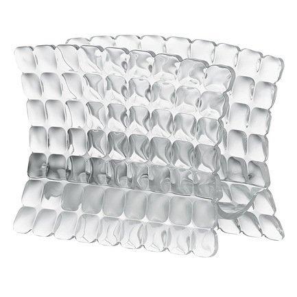 Guzzini Салфетница Tiffany, 15.2х7.6х11 см, прозрачная 19980000 Guzzini салфетница 10х4х8 см polystar салфетница 10х4х8 см