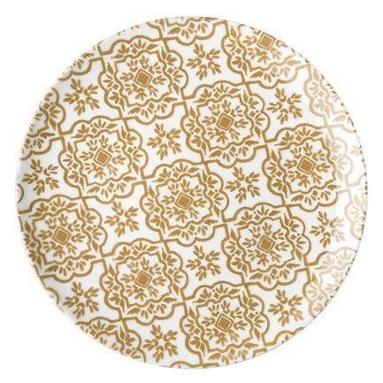 Guzzini Тарелка обеденная Agata, 26 см тарелка обеденная smeraldo festival d27 см