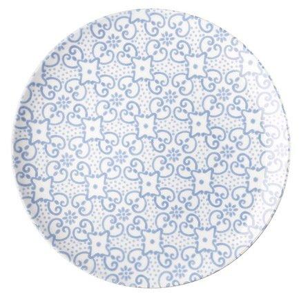 Guzzini Тарелка обеденная Immacolata, 26 см тарелка обеденная terracotta дерево жизни диаметр 26 см