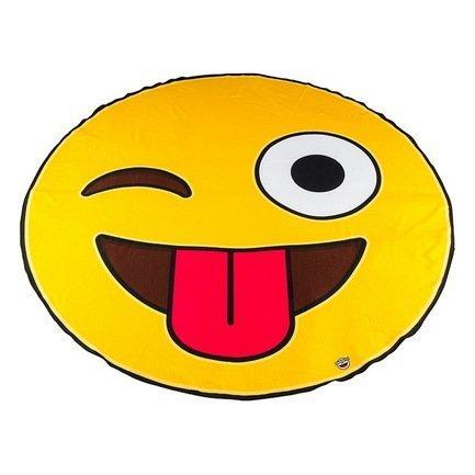 BigMouth Покрывало пляжное Emoji, 130х152х2 см BMBTEM BigMouth