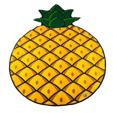 BigMouth Покрывало пляжное Pineapple, 130х152х2 см BMBTPA BigMouth покрывало на кресло les gobelins mexique 50 х 120 см