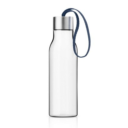 Eva Solo Бутылка питьевая спортивная (500 мл), 6.5x23.5 см, синий 503028 Eva Solo поильники vitdam складная эко бутылка с карабином 500 мл