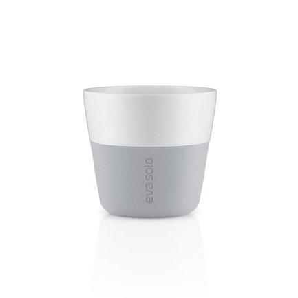 Чашки для лунго (230 мл), 8.5x8 см, серые, 2 шт. 501045 Eva Solo кормушки для птиц подвесные 10х11 см 2 шт 571032 eva solo