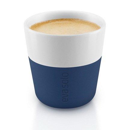 Eva Solo Чашки для эспрессо (80 мл), синие, 2 шт. 501047 Eva Solo чашки для латте 2 шт тёмно синие 1268714
