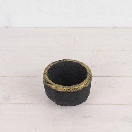 купить Fuga Миска с отделкой золотом, 10х6.5 см недорого