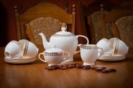 Сервиз чайный на 6 персон, 15 пр. 71533 А Akky