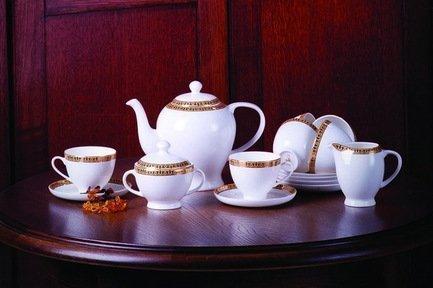 Akky Сервиз чайный Алтынай на 6 персон,15 пр. colombo чайный сервиз из 15 предметов на 6 персон флёр c2 ts 15 3701al