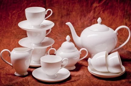 Сервиз чайный Амалия на 6 персон, 15 пр. 71541А Akky