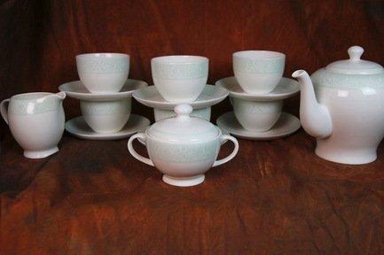 Akky Сервиз чайный Дионис-Аквамарин на 6 персон, 15 пр. colombo чайный сервиз из 15 предметов на 6 персон флёр c2 ts 15 3701al