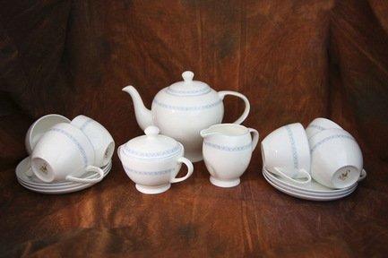 Akky Сервиз чайный Кларисса на 6 персон, 15 пр. 71556 А Akky сервиз чайный bekker bk 7146 15 предметов 6 персон