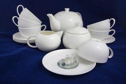 Akky Сервиз чайный Розалия на 6 персон, 15 пр. colombo чайный сервиз из 15 предметов на 6 персон флёр c2 ts 15 3701al