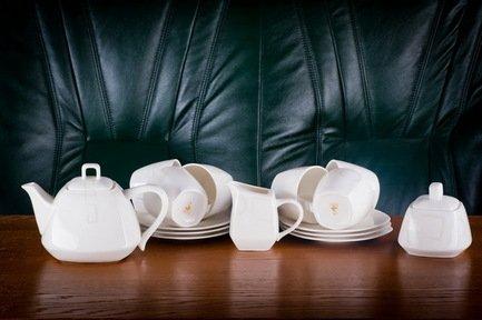 Akky Сервиз чайный Сальветто на 6 персон, 15 пр. 71534 А Akky сервиз чайный bekker bk 7146 15 предметов 6 персон