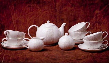 Сервиз чайный София на 6 персон, 15 пр. 71545А Akky