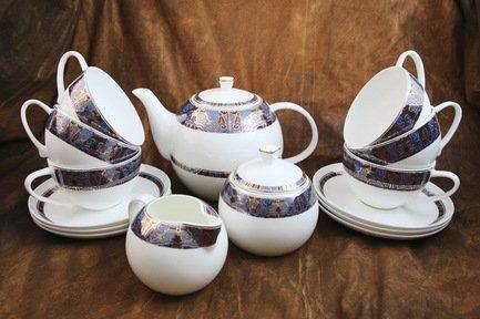 Akky Сервиз чайный Тамерлан на 6 персон, 15 пр. colombo чайный сервиз из 15 предметов на 6 персон флёр c2 ts 15 3701al