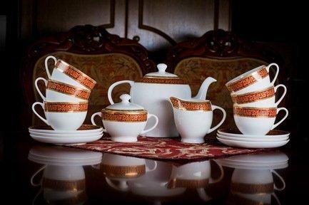 цена на Akky Сервиз чайный Триумф на 6 персон, 15 пр. 71536 А Akky