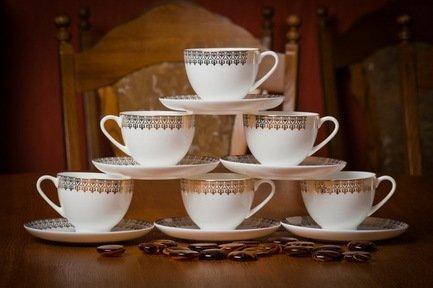 Akky Набор чайных пар Акку на 6 персон, 12 пр. 71233 А Akky