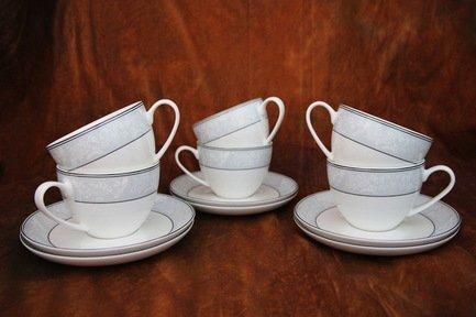 Набор чайных пар Генрих на 6 персон, 12 пр. 71255 А Akky akky набор чайных пар розалия на 6 персон 12 пр 71253а akky
