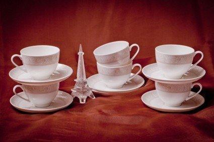 Akky Набор чайных пар Дионис на 6 персон, 12 пр. 71243А Akky