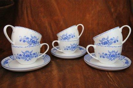 Akky Набор чайных пар Любава на 6 персон, 12 пр. 71260 А Akky