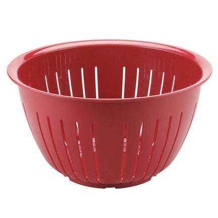 Westmark Дуршлаг Олимпия (4.3 л), 23 см, красный 2417221R Westmark westmark емкость для салата олимпия с крышкой 2 5 л 21 см красная 2414221r westmark