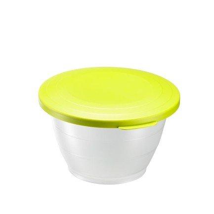 Westmark Емкость для салата Олимпия с крышкой (0.6 л), 13 см, зеленая 2410221A Westmark westmark емкость для салата олимпия с крышкой 2 5 л 21 см красная 2414221r westmark
