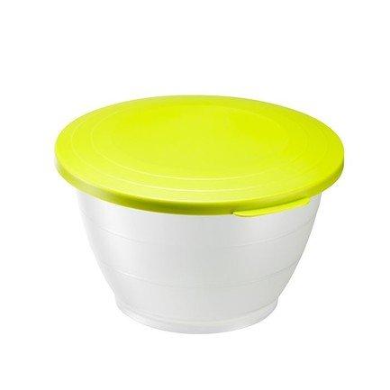 Westmark Емкость для салата Олимпия с крышкой (1.3 л), 18 см, зеленая 2412221A Westmark westmark емкость для салата олимпия с крышкой 2 5 л 21 см красная 2414221r westmark